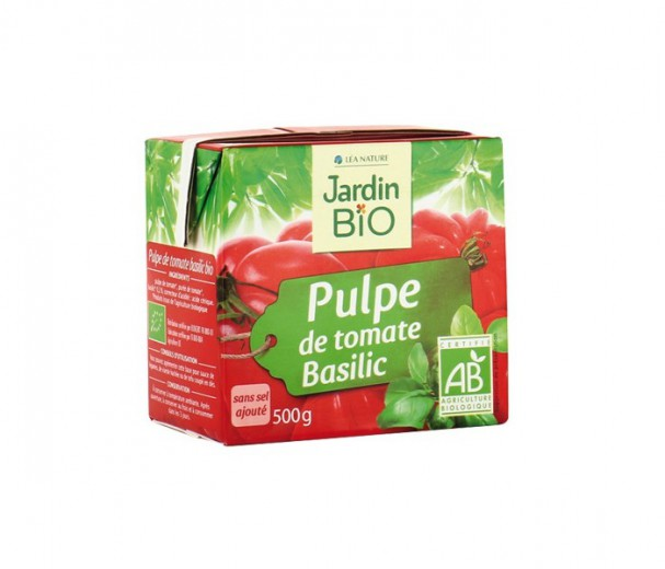 Paradižnikova pulpa z baziliko bio - Jardin Bio, 500 g