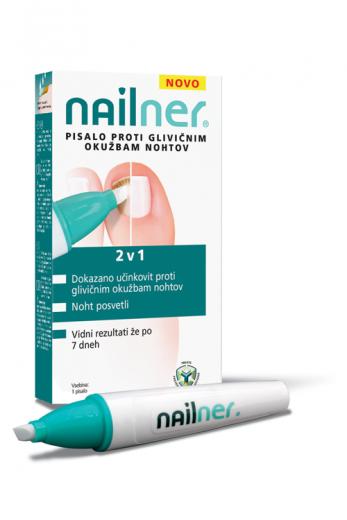 Nailner pisalo proti glivičnim okužbam nohtov 2 v 1, 4 ml raztopine