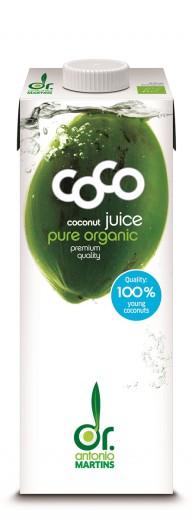 Bio sok mladih kokosovih orehov Dr. Martins, 1L