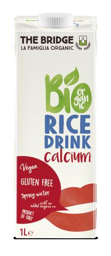 Bio rižev napitek s kalcijem, 1 l
