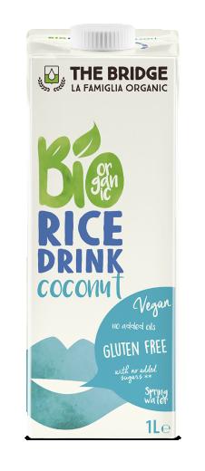 Bio napitek rižev s kokosom, 1 l