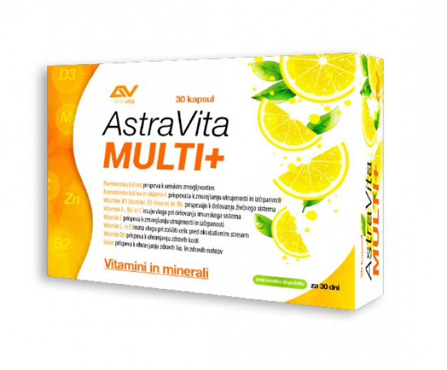 AstraVita, multi +, 30 kapsul