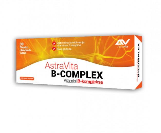 AstraVita, B kompleks, 30 tablet