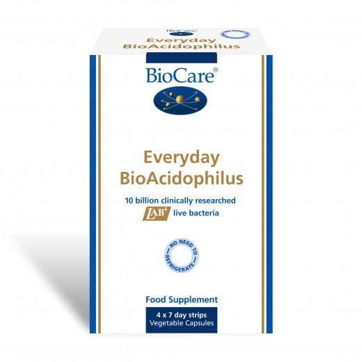 BioCare, everyday BioAcidophilus, 28 kapsul