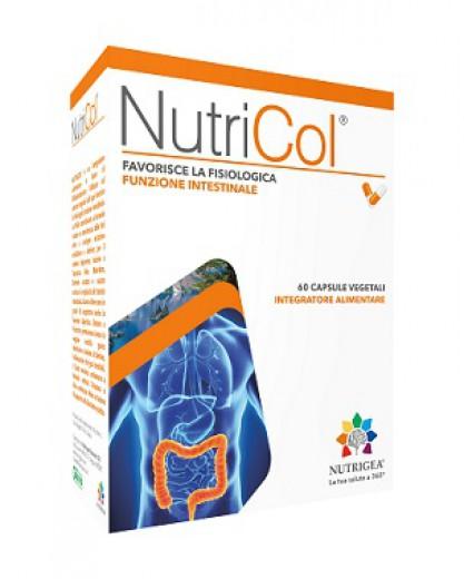 NutriCol probiotik z zelišči in encimi, 60 rastlinskih kapsul