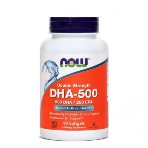 Now, DHK, 500 mg, 90 mehkih kapsul