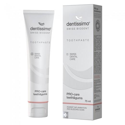 Pro-care teeth&gums zobna pasta Dentissimo, 75 ml