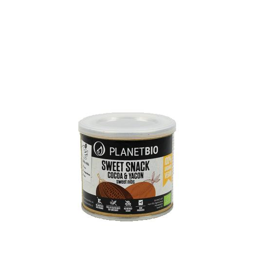 Kakavova zrna z yacon čokolado PlanetBIO, 120 g