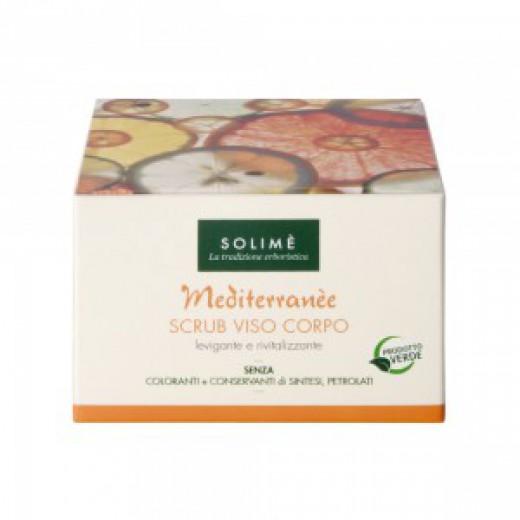 Mediterranee Piling za obraz in telo Solime, 200 ml
