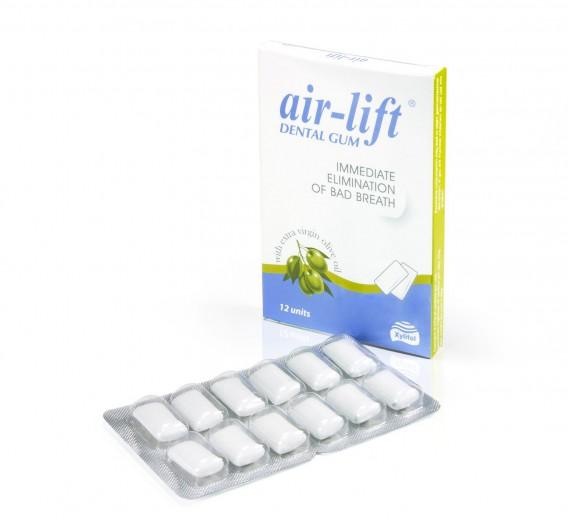 Air lift žvečilni gumi proti zadahu, 12 kom