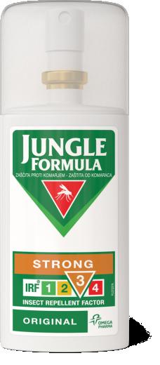Jungle formula strong original zaščita pred komarji, 75 ml