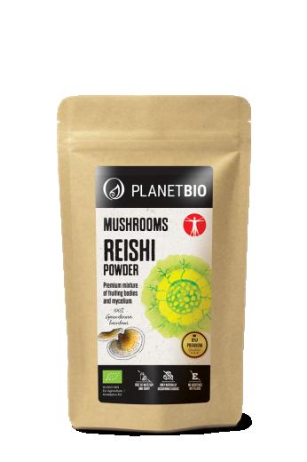 PlanetBIO, reishi goba v prahu, 150 g