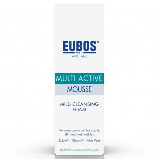 Eubos Anti Age Multi Active blaga čistilna pena, 100 ml