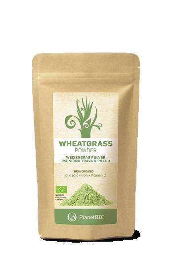 PlanetBIO, pšenična trava v prahu, 100 g