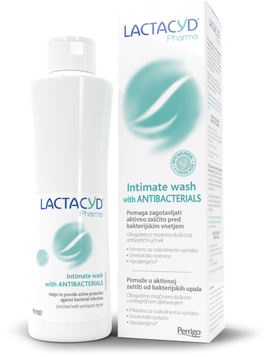 Lactacyd pharma with Antibacterials intimna nega, 250 ml