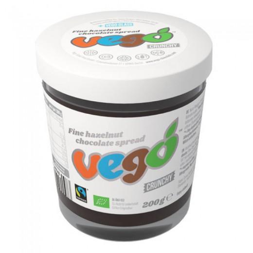 VEGO Veganski čokoladni namaz z lešniki bio, 200g