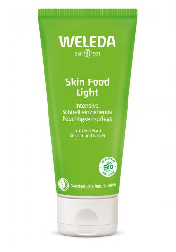 Skin food light negovalna krema Weleda, 75 ml