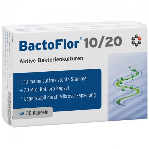BactoFlor 10/20, 30 kapsul