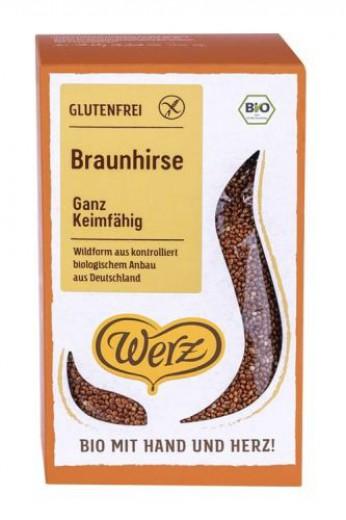 Bio neoluščeno proso Werz, 500 g