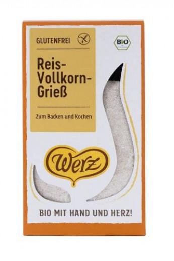 Bio rižev zdrob Werz,  250 g