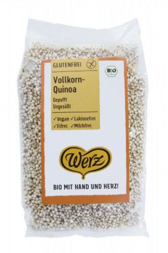 Bio kvinojini napihnjenci brezglutenski Werz, 125 g