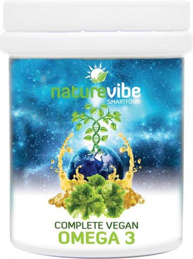 NatureVibe, complete vegan omega 3, 30 kapsul