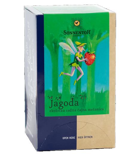 Bio sadni čaj z gozdnimi jagodami, v vrečkah