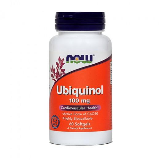 Now, ubiquinol, 100 mg, 60 kapsul