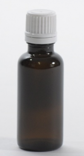 Steklenica TE pokrovček in kapalka, 30 ml