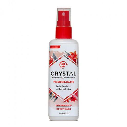 Crystal deodorant z vonjem granatno jabolko (razpršilo), 118 ml