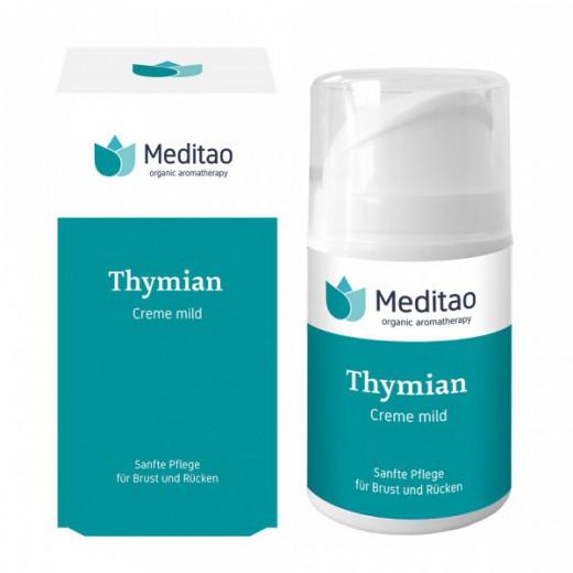Timijanova blaga krema za otroke (materina dušica) MEDITAO, 50 ml