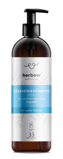 Tekoči detergent za pranje perila Fairy White za belo perilo Herbow, 1 L