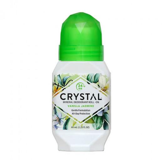Crystal roll-on Vanilija in Jasmin, 66 ml