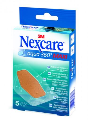 Nexcare™ vodotesni obliži, MAXI velikost, 5 kom