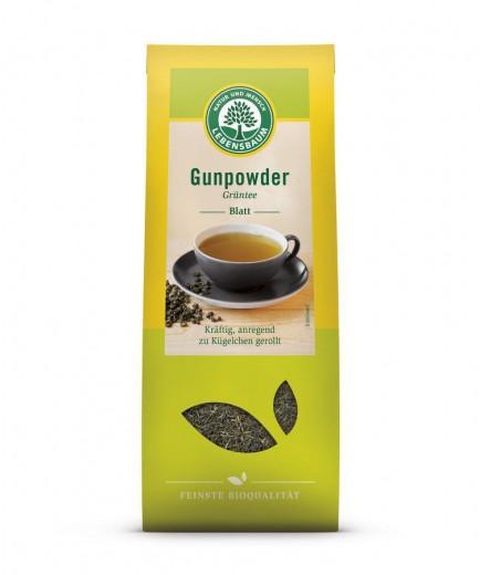 Lebensbaum Gunpower zeleni čaj bio, 100 g