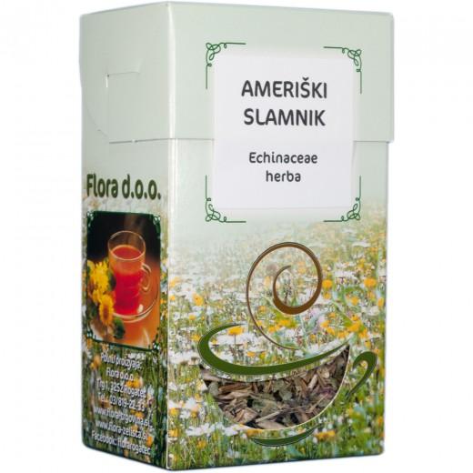 Ameriški slamnik zeliščni čaj Flora, 50 g