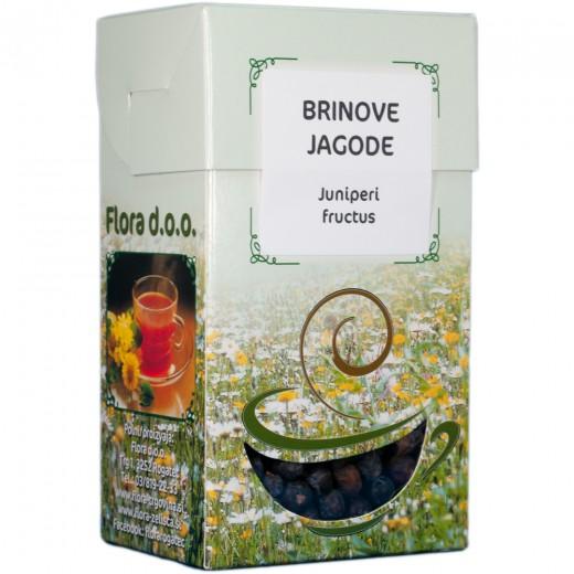 Brinove jagode zeliščni čaj Flora, 100g