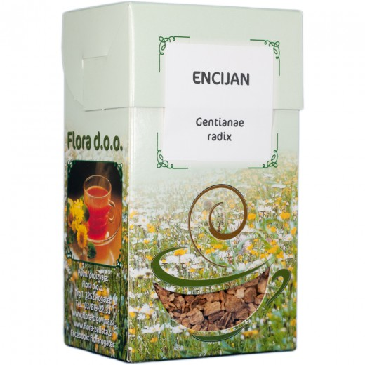 Encijan zeliščni čaj Flora, 100 g