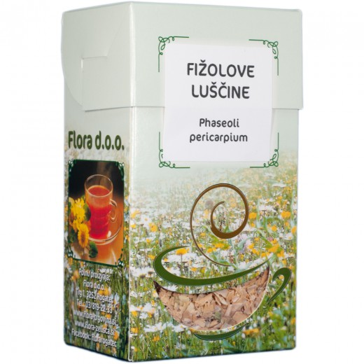 Fižolove luščine zeliščni čaj Flora, 50 g