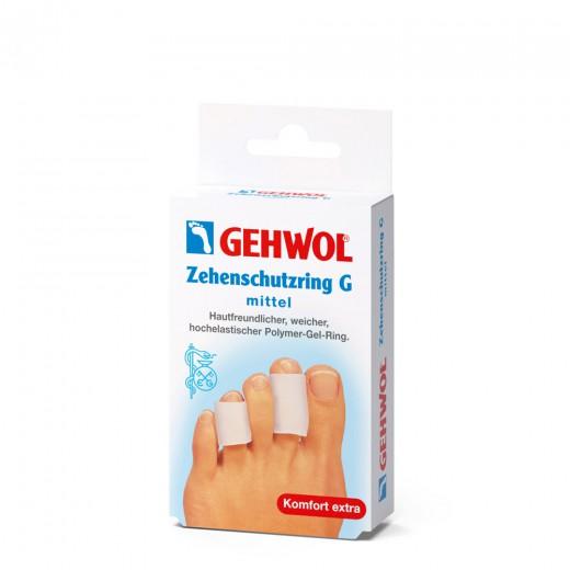 Gehwol zaščitni obroč G za prste, srednji, 2 kom