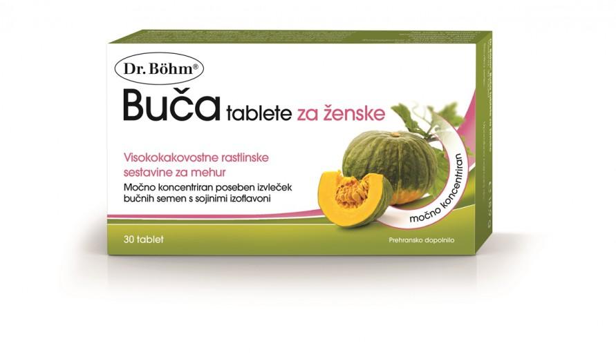 Dr. Böhm, buča tablete za ženske, 30 tablet