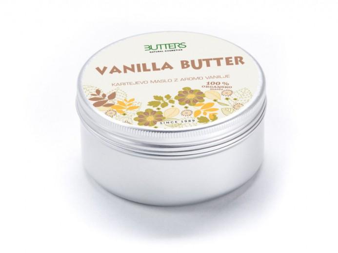 Butters Karitejevo maslo z vanilijo, 100 ml