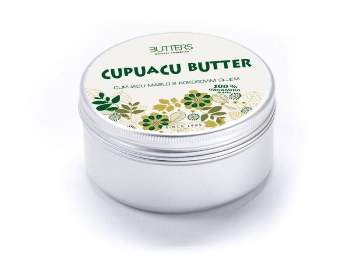 Butters Cupuacu maslo s kokosovim oljem, 100 ml