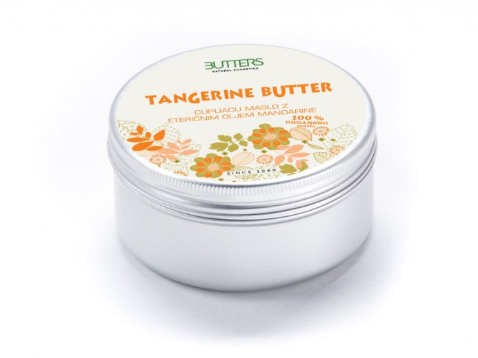 Butters Cupuacu maslo z mandarino, 100 ml