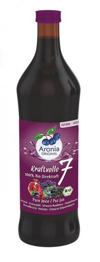 Aronia sok moč 7 vrst bio 0,7l