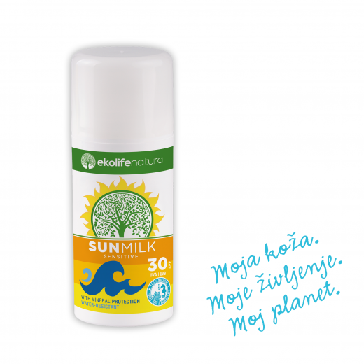 Ekolife natura Sun Milk SPF30, 100 ml