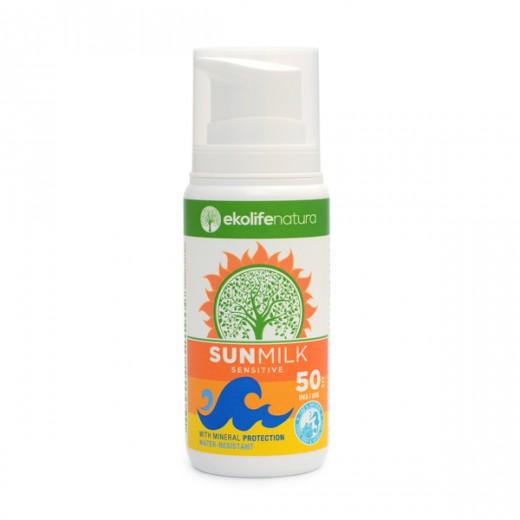 Ekolife natura Sun Milk SPF 50, 100 ml