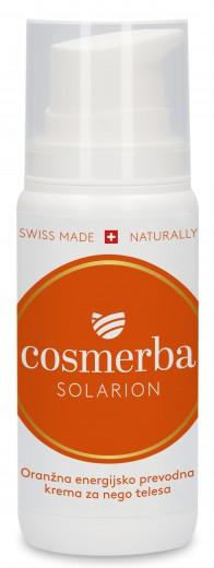 Cosmerba korenčkova krema – oranžna/ solarion, 100 ml