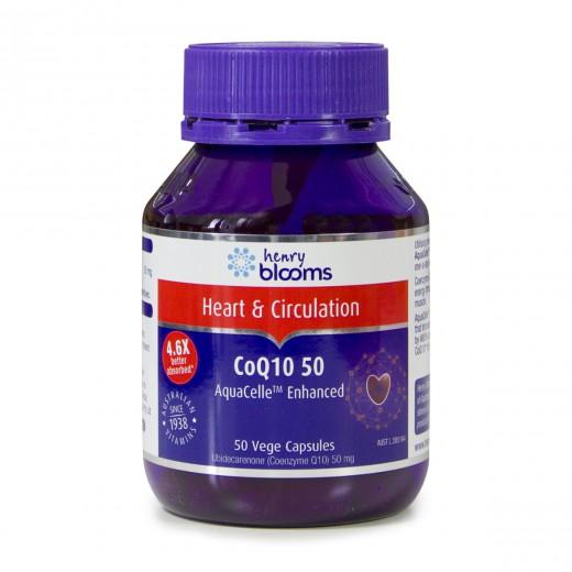 Blooms, koencim Q10 aquacelle, 50 mg, 50 kapsul