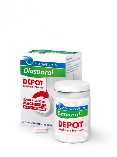 Magnesium - Diasporal, depot, 30 tablet